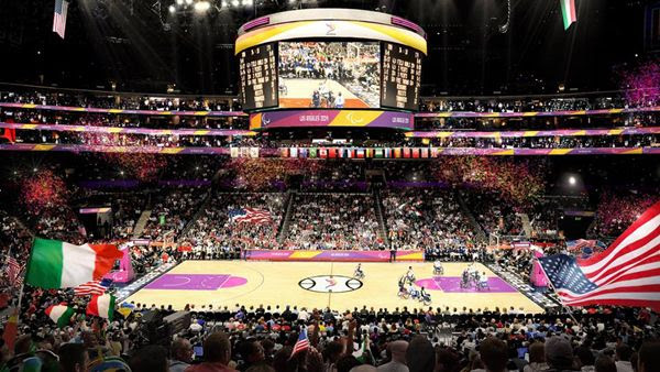 STAPLES Center is the proposed venue for wheelchair basketball during the 2028 Paralympic Games.