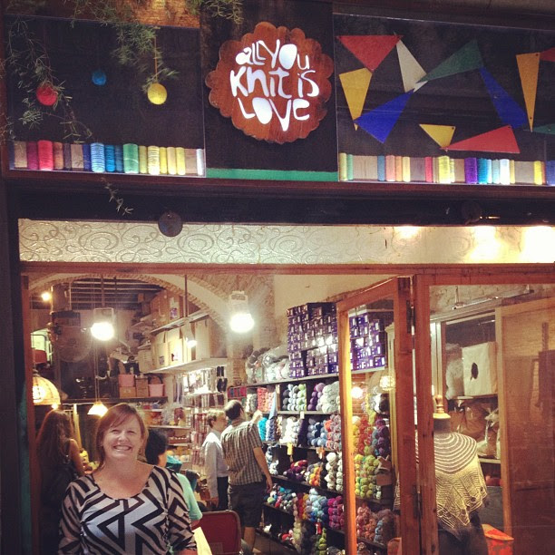 All You Knit is Love. An ABSOLUTE MUST in Barcelona!! Lovely shop located in the Barrio Gótico.