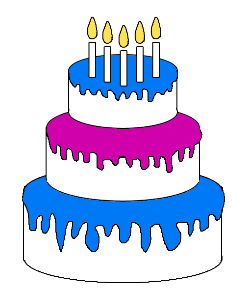 Cake Birthday Images Art Clip Free