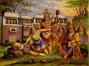 Joe, the INDIANS found out!