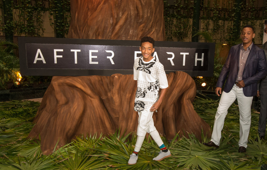 Jaden Smith - Will and Jaden Smith Promote 'After Earth' in Cancun