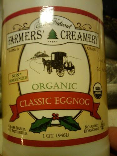 Eggnog review: Farmers' Creamery Classic Eggnog