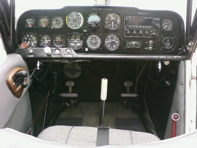 Citabria avionics panel