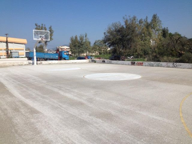 Ήγουμενίτσα: Το 2ο ΓΕΛ Ηγουμενίτσας αποκτά υπαίθριο γήπεδο καλαθοσφαίρισης