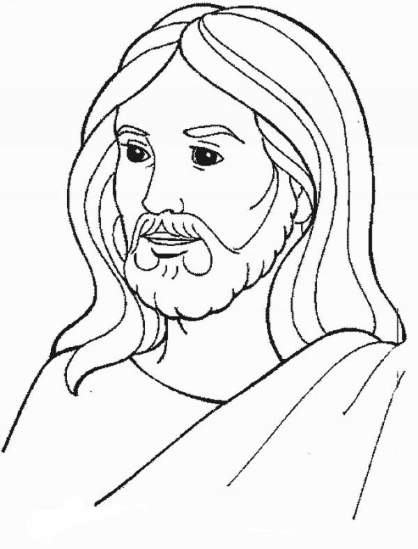 Imagenes De Jesus Para Colorear