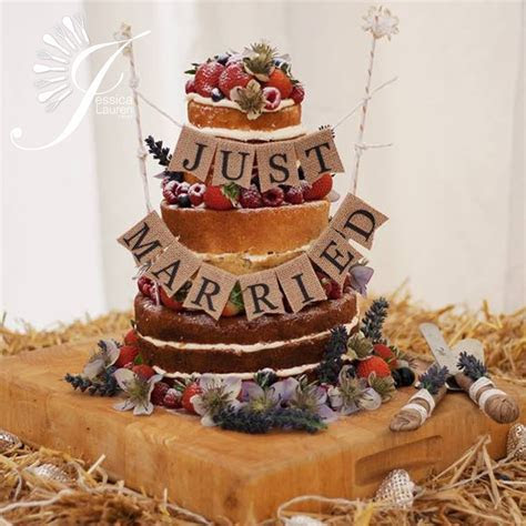 Naked Wedding Cakes   London   Berkhamsted