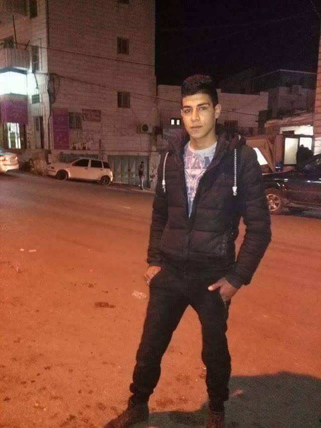الشاب علاء مروان عيسى طقاطقة،