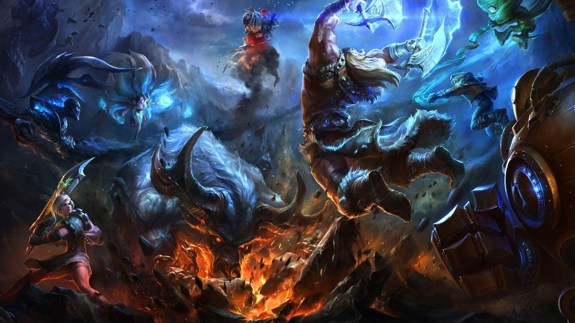 Ashe League Of Legends Wallpaper Ashe Desktop