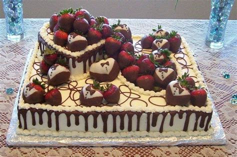 Grooms Cake. Half sheet cake. Heart top with tuxedo and