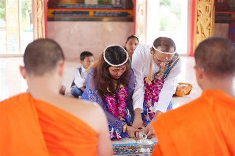 Buddhist Blessing Option 02 Wedding Package : Thailand