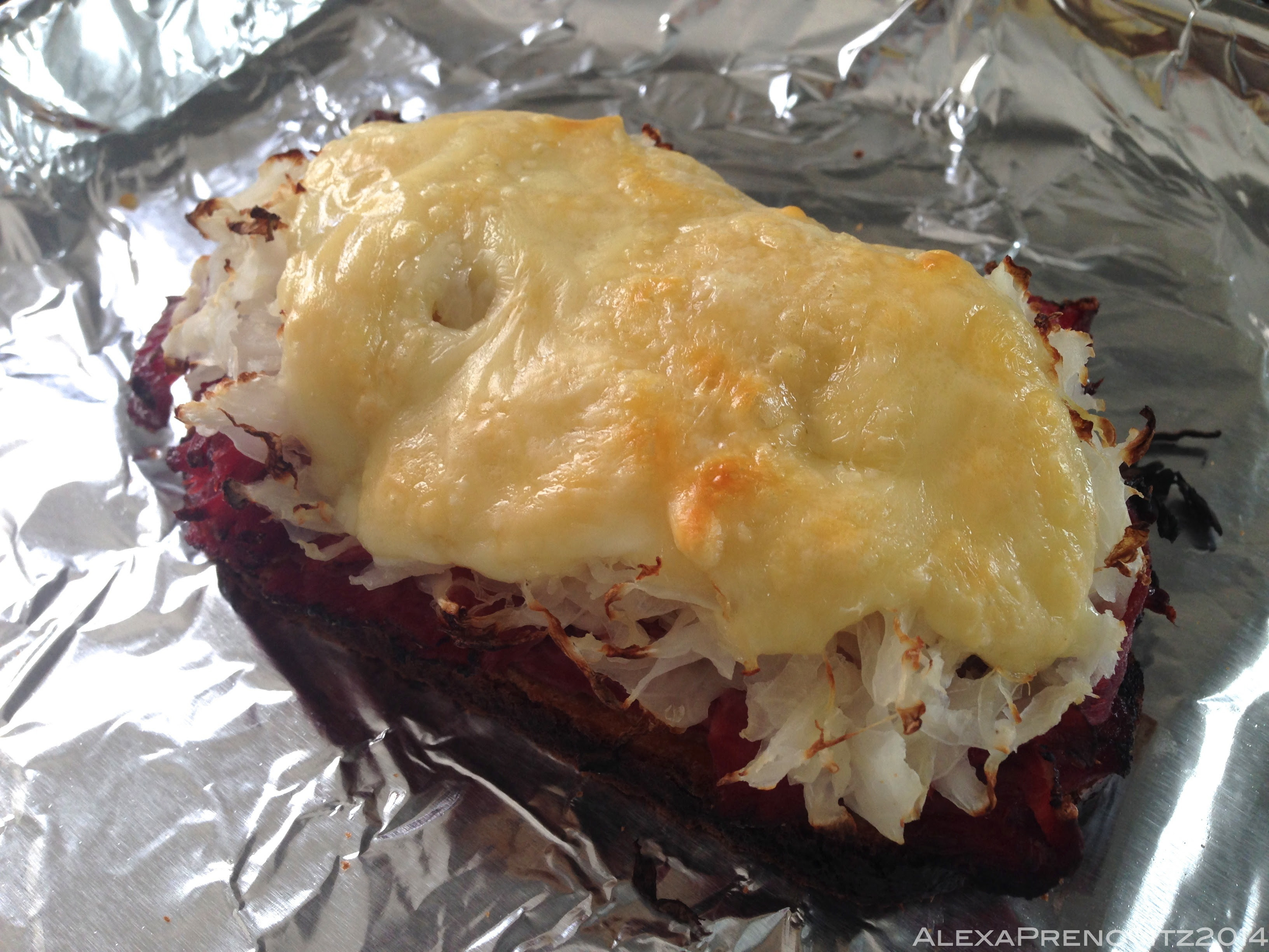Oven-Toasted Reuben Sandwich   Cooking While Caffeinated