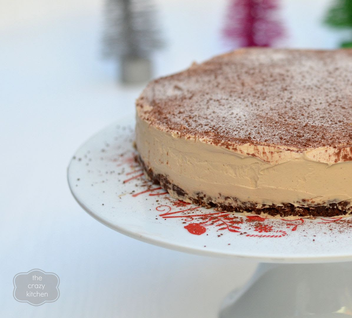 Chocolate Chai Cheesecake
