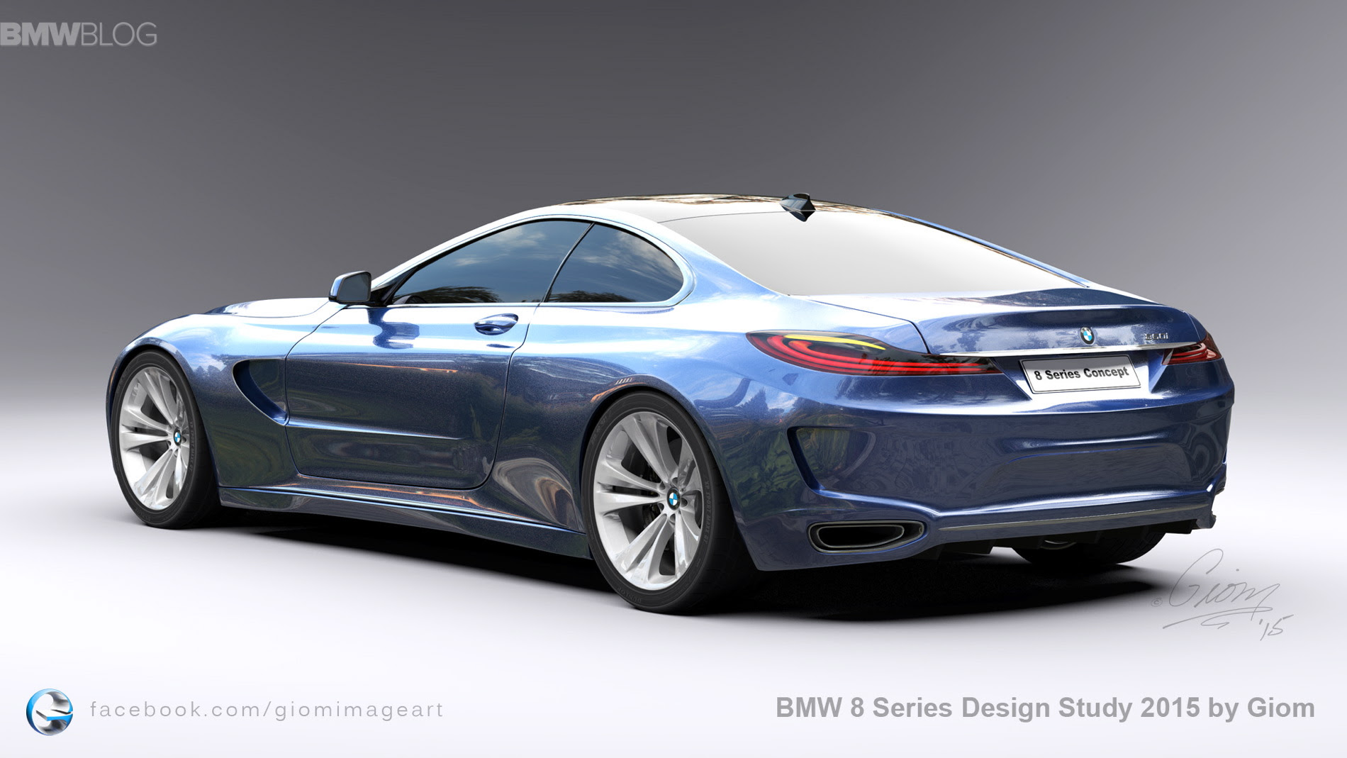 BMW 8 Series Design Study aims to revive the spirit of the legendary ...