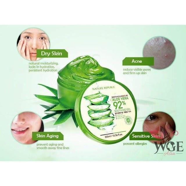 Kegunaan Lain dari Produk Kecantikan Aloe Vera Fresh Gel Jeju