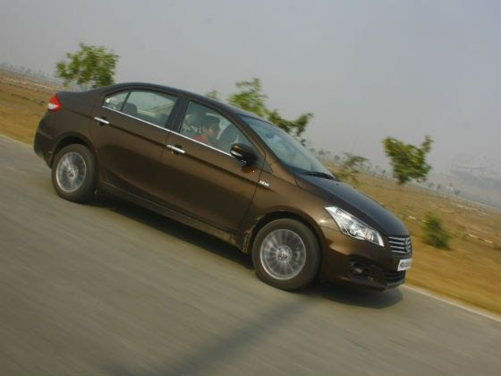 Maruti Ciaz in action