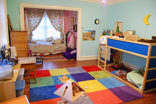 Kid Spaces: 20 Shared Bedroom Ideas