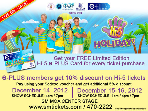 Hi5 Holiday in Manila 2012