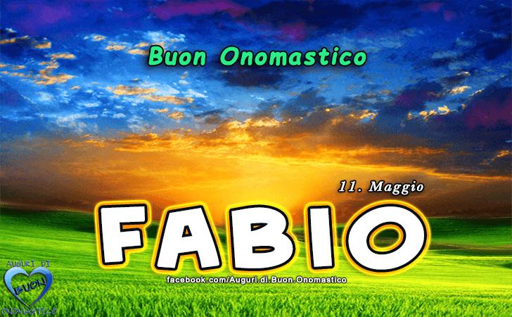 Buon Onomastico Fabio Auguri Di Buon Onomastico