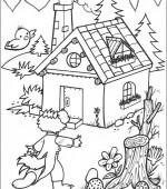 Coloriage Trois Petit Cochon Gratuit A Imprimer