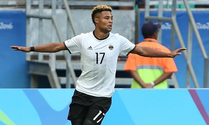 Serge Gnabry Alemanha x Coreia (Foto: Reuters)