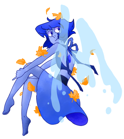 Squee Lapis from Steven Universe.:D