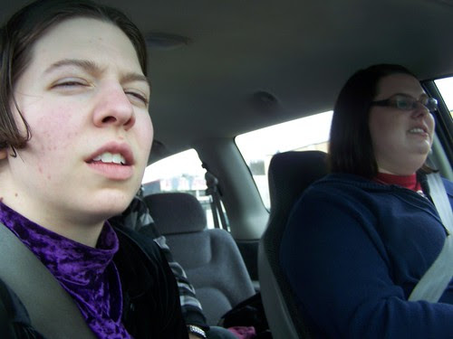 apr 028 In the getaway car!