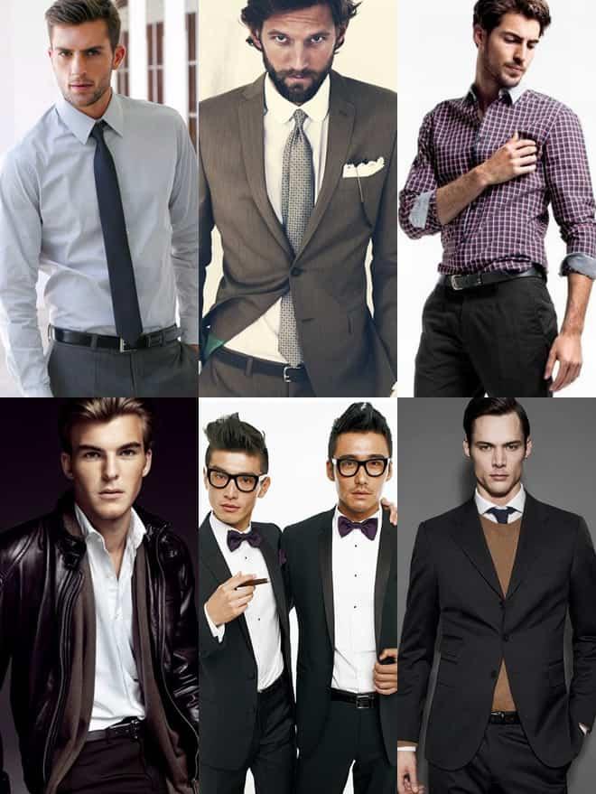 Men's Formal Belts Lookbook