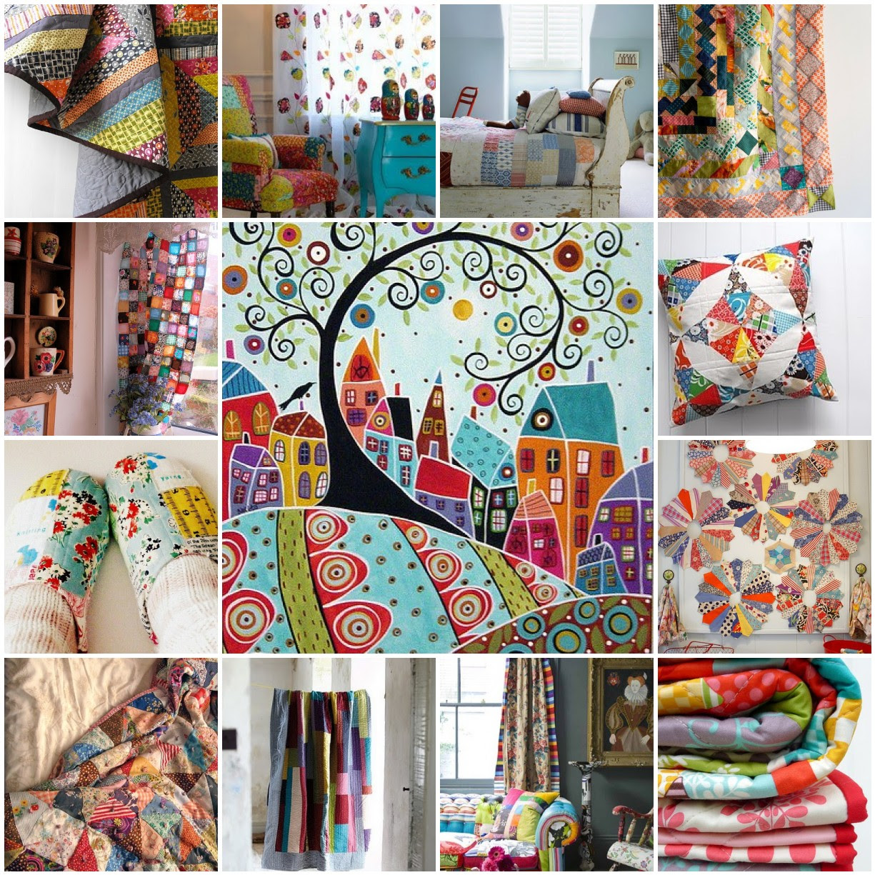 Tuesday Inspiration : : Patchwork