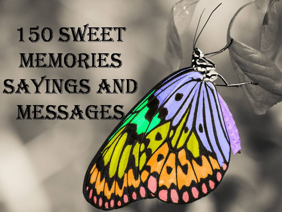 150 Sweet Memories Sayings And Messages