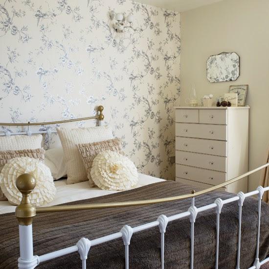 Pale cream country bedroom   housetohome.co.uk