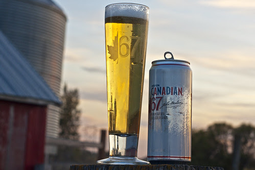 Skunkworth's Barleyslime: Molson Canadian 67 by Cody La Bière