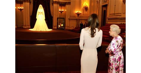 Pictures of Kate Middleton and The Queen Viewing Her