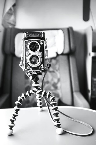 Rolleiflex Automat 1953 - on the morning train