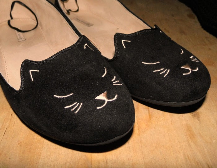 Cat Shoes Charlotte Olympia Style flats