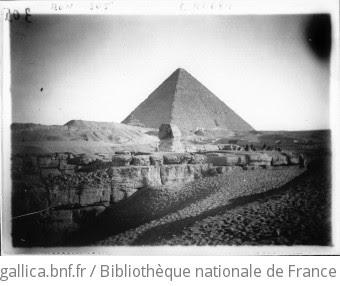 Egypte : les pyramides et le Sphinx : [photographie de presse] / Agence Mondial