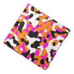 Uncovered Camouflage Neon Pink Bandana