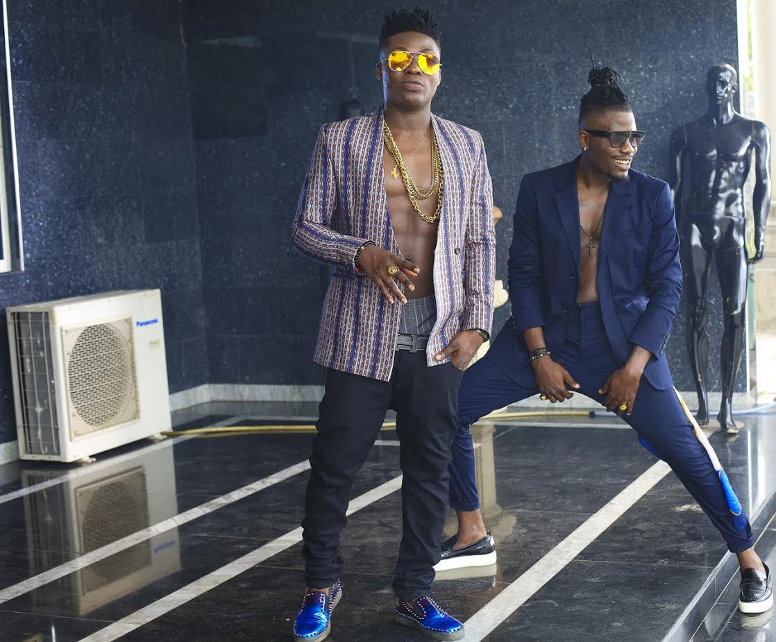 "MUSIC: Ycee & Reekado Banks Shoot Video For ""Link Up"""