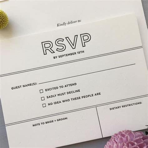 Best 25  Rsvp wording ideas on Pinterest   Wedding