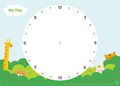 Daily Schedule Clock   Daily Planner