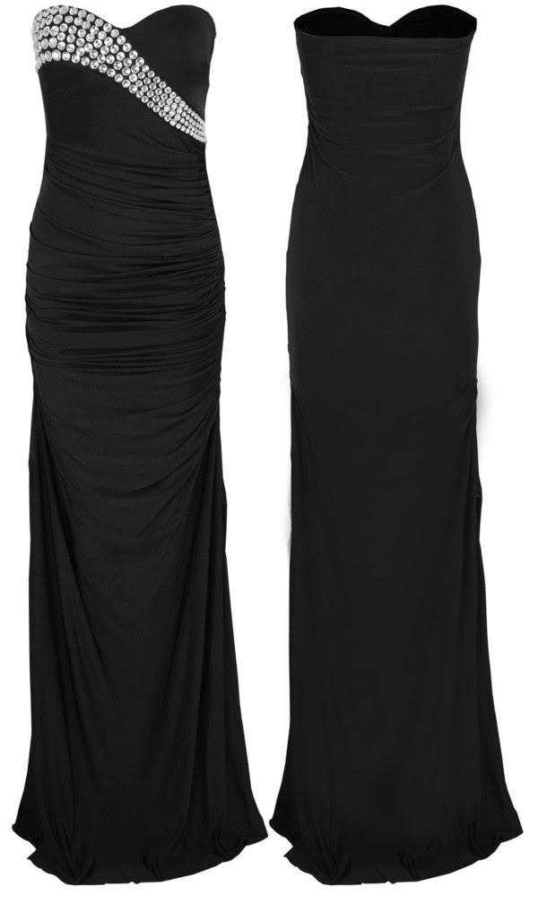 Black evening maxi dress ebay