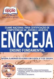 Concurso ENCCEJA 2018-ENCCEJA - ENSINO FUNDAMENTAL