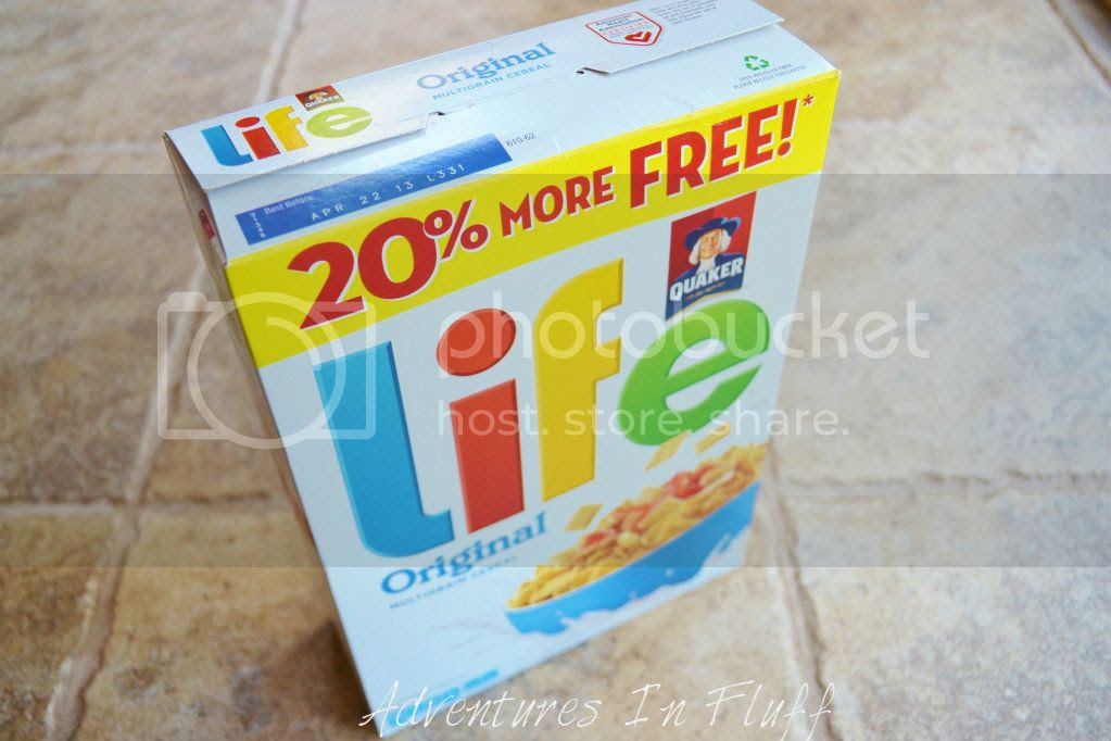 Upcycle a cereal box into a shipping envelope - cereal box