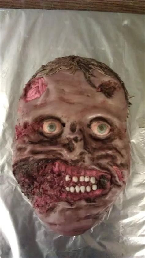 1000  images about Zombie Cakes on Pinterest   Red velvet