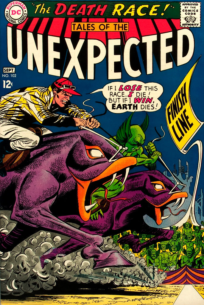 Tales of the Unexpected #102 (DC, 1967) Carmine Infantino cover