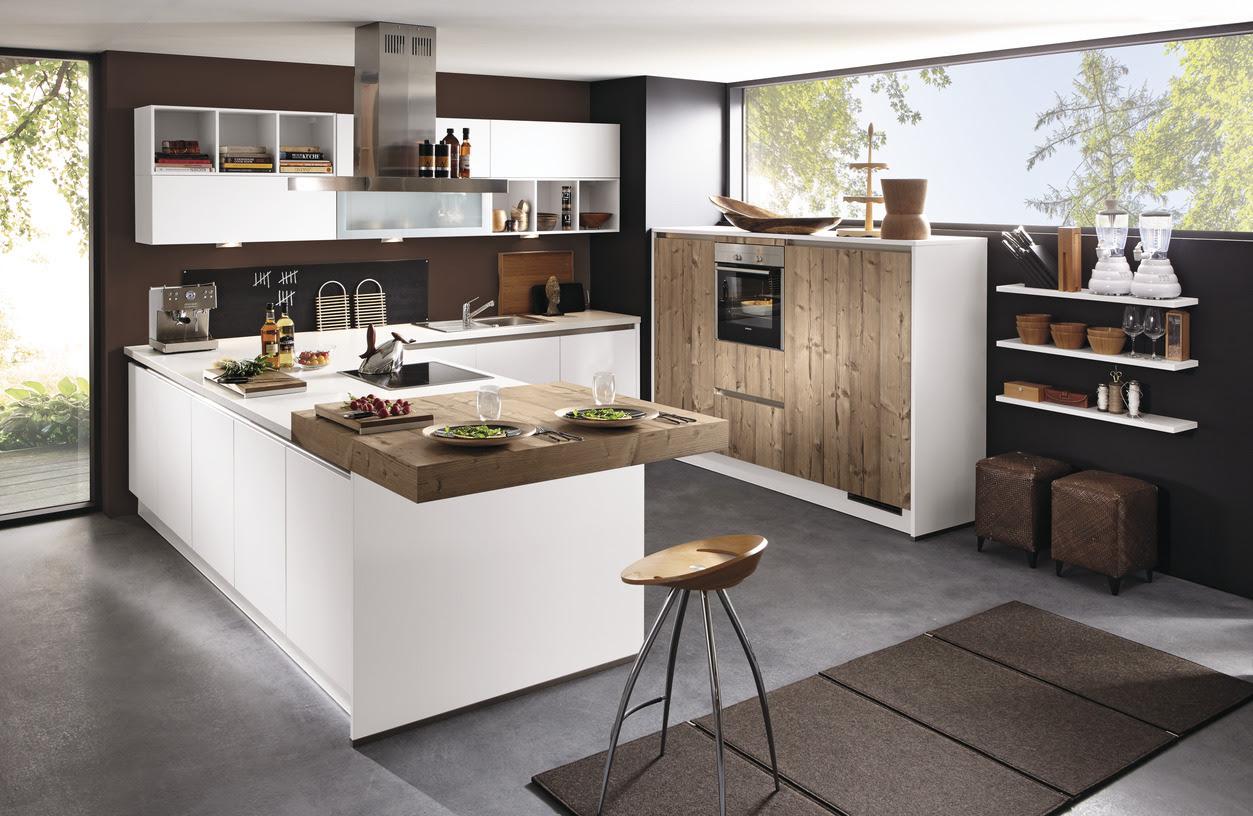Kücheninsel Theke Küche Mit Breite Tresen Planen ...