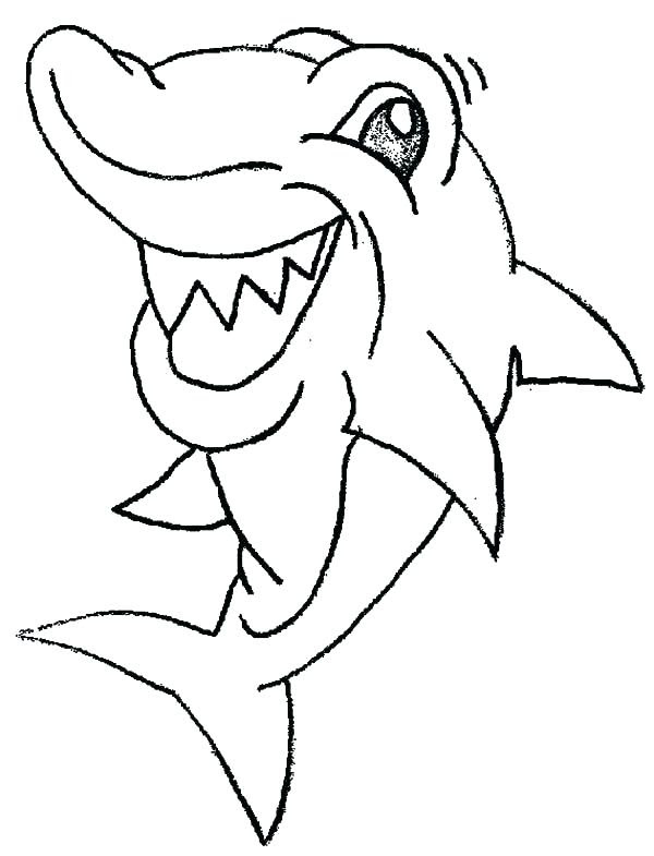Baby Shark Coloring Pages at GetColorings.com | Free ...
