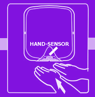 hand proximity sensor