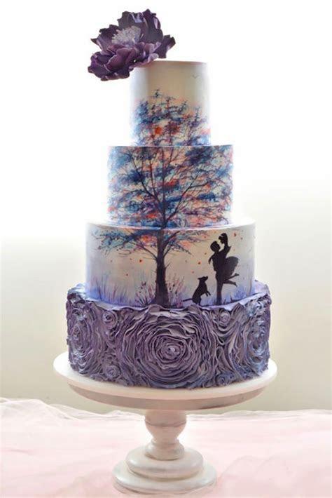36 Eye Catching Unique Wedding Cakes   Unique wedding
