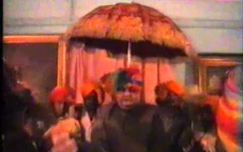 वीडियो - झाबुआ महाराजा नरेन्द्र सिंह राजतिलक विडियो  2002