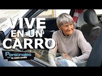 Señora de origen Aleman vive en un carrio.. PERSONAJES CON EL CHICO SANDY